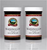 Naturessunshine Marshmallow Respiratory System Support 450 mg 100 Capsules (Pack of 2)