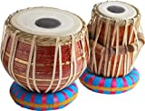 Queen Brass Tabla_Drums Set-Designer Red_Brass Bayan-Shesham Wood Dayan-Tablas-Prc Ehs