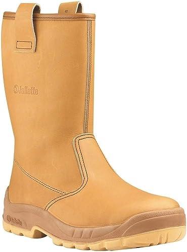 Jallatte Jalaska Honey Leather Rigger Work Safety Steel Toecap Boots