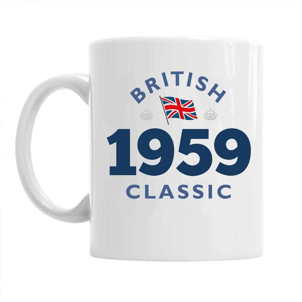60th Birthday Gift British Classic Gifts For Men Women 1959 Coffee Mug Amazoncouk