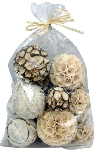 Amazon Lot Of 40 Natural Decorative Balls 4040 Inch Diameter Best Natural Decorative Balls
