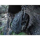 Cannae Pro Gear Legion Day Pack EDC Tactical Backpack Bug Out Bag Black CPG-BP-LEG-M-B