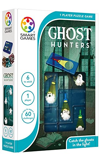 SmartGames Ghost Hunters Travel Game for Kids and Adults, a Spooky, STEM Focused Cognitive Skill-Bui - http://coolthings.us
