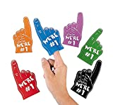 number 1 finger - Foam Mini Fingers (1 dz) by Fun Express