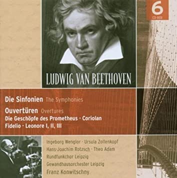 Sinfonien (1-9) (Ga), Overtüren - Konwitschny, Gol, Adam ...