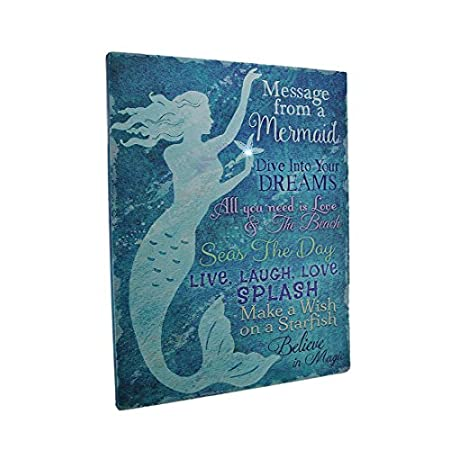 51xnybuuanL._SS450_ Mermaid Wall Art and Mermaid Wall Decor