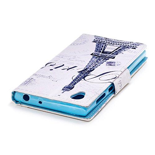 Ecoway Serie pintada Caja del teléfono de moda para Sony Xperia L1 - Tower Tower