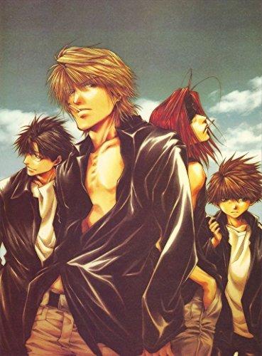 saiyuki reload gunlock, anime, manga, kazuya minekura, genjo sanzo, sha gojyo, cho hakkai, son goku
