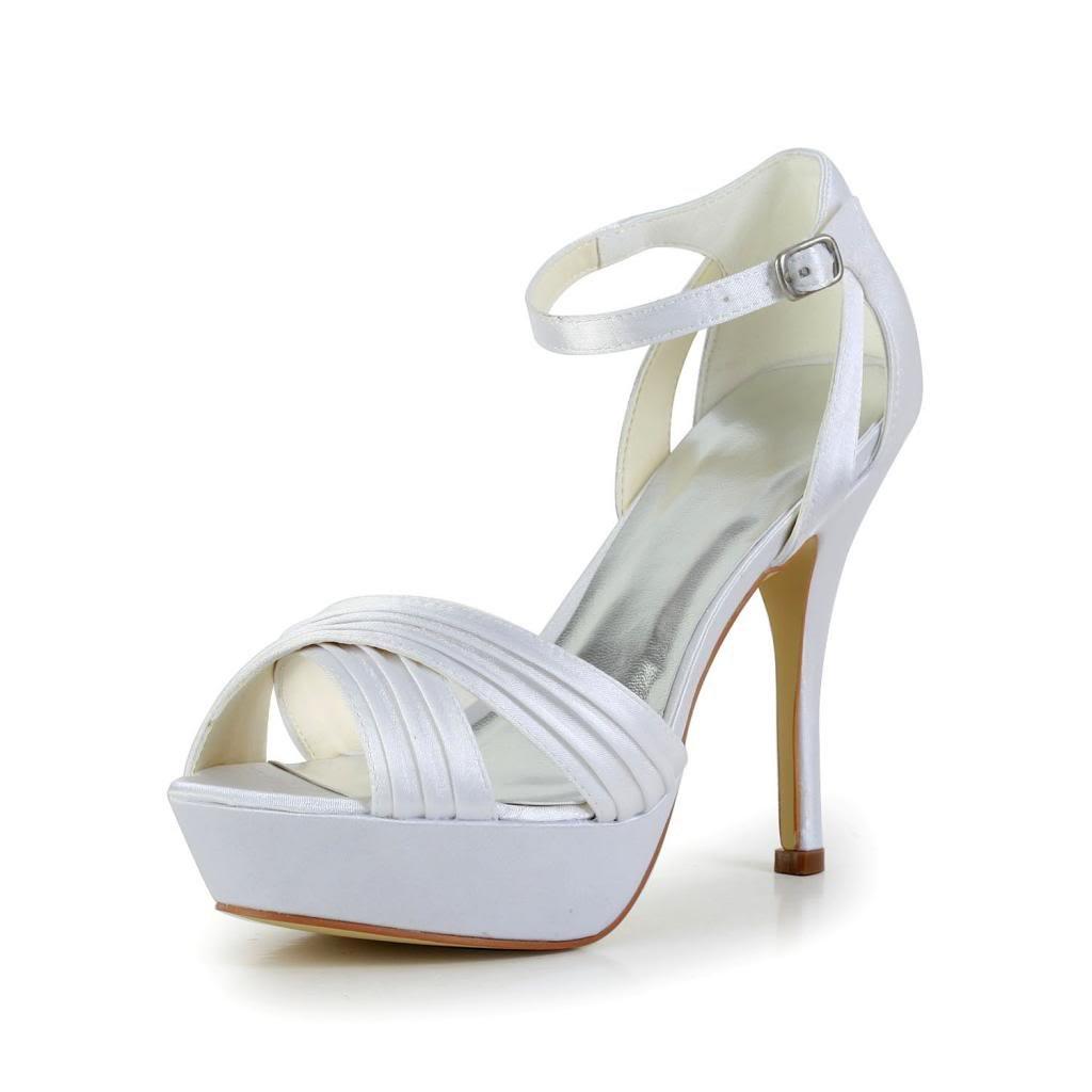 Jia Jia Wedding Wedding 1291 femme chaussures de mariée mariage Escarpins Blanc pour femme Blanc cafe133 - automaticcouplings.space