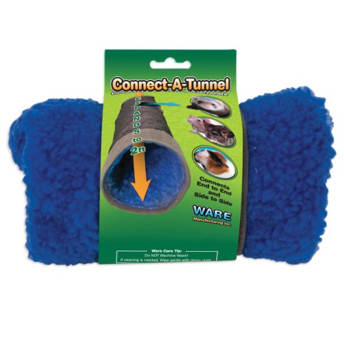 Ware Manufacturing Durable Denim Small Pet Connect-A-Tunnel