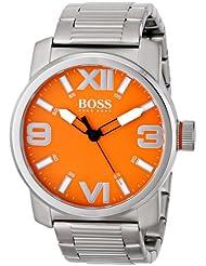 BOSS Orange Men's 1512982 Dubai Analog Display Quartz Silver Watch