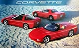 2002 Chevy Corvette Z06 Coupe Convertible Poster
