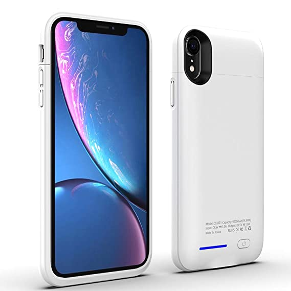 quality design cf04f 4efeb Amazon.com: for iPhone X XS Battery Case, Embedded Magnetic ...