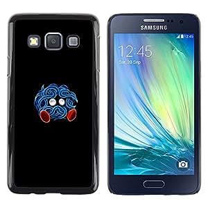 EJOY---Cubierta de la caja de protección la piel dura para el / Samsung Galaxy A3 / --Tangrowth P0kemon