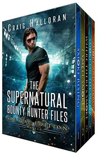 The Supernatural Bounty Hunter Files: (Special Edition, Books 1 thru 5): Urban Fantasy Shifter Series (Smoke Special Edition) by [Halloran, Craig]