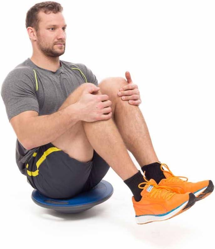 Utilisable au Planche d/équilibre /»Gyro/«/// Id/éale pour les exercices sportifs et de remise en forme Accessoire dentra/înement permettant dam/éliorer la coordination et l/équilibre Physioth/érapie