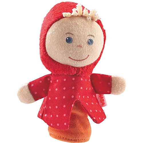 HABA Finger Puppet Red Riding Hood for Ages 18 Months and Up
