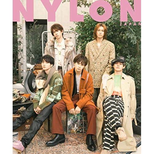 NYLON JAPAN 2021年 1月号 表紙画像