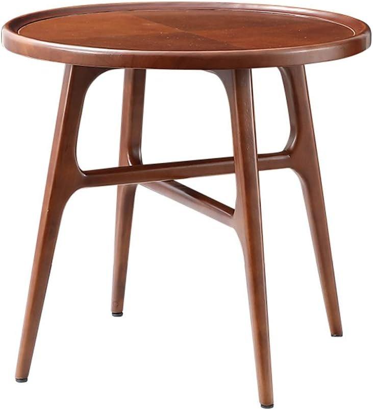 100% Authentiek Moderne Koffietafel Sofa Salontafel Eenvoudige Kleine Bijzettafel Woondecoratie Meubelen, 62X45X58CM 4.10 (Color : Brown) Brown sVVAsTL