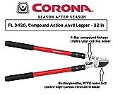 Corona Compound Action Anvil Lopper, 32 Inch, FL