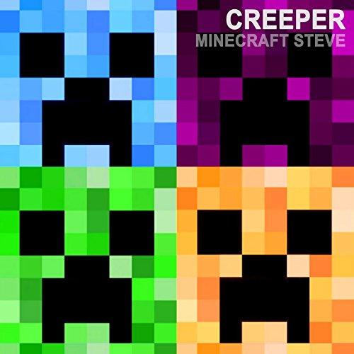 Creeper minecraft songs by minecraft steve on amazon - Minecraft creeper and steve ...