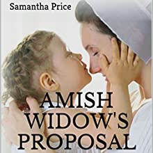 Amish Widow's Proposal Audiobook by Samantha Price Narrated by Heather Henderson