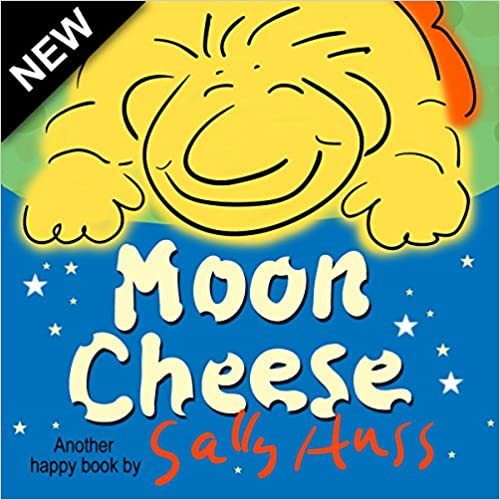 Children's Books: Moon Cheese (Delicious, Rhyming Bedtime Story/Picture Book About Being Helpful, for Beginner Readers, Ages 2-8)