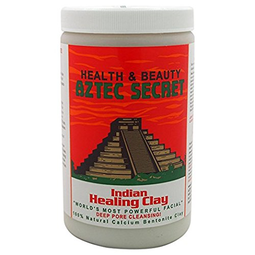 Aztec Secret Deep Pore Cleansing Indian Healing Clay 2 Pound (Pack