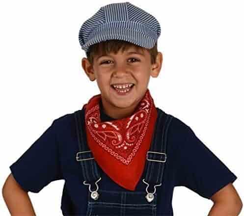 0abd70ea Kangaroo Black Felt Studded Cowboy Hat. seller: FBA King. (393). Child's  Train Engineer Hats; (12-Pack) Conductor Hats