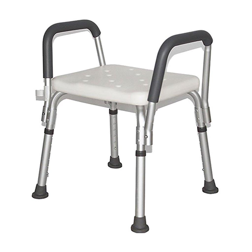 Chaise de douche en alliage d'aluminium siège de douche tabouret femmes enceintes - personnes âgées - handicapées tapis anti-