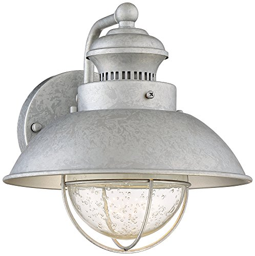 Fordham 8 1/2 High Galvanized LED Outdoor Wall Light