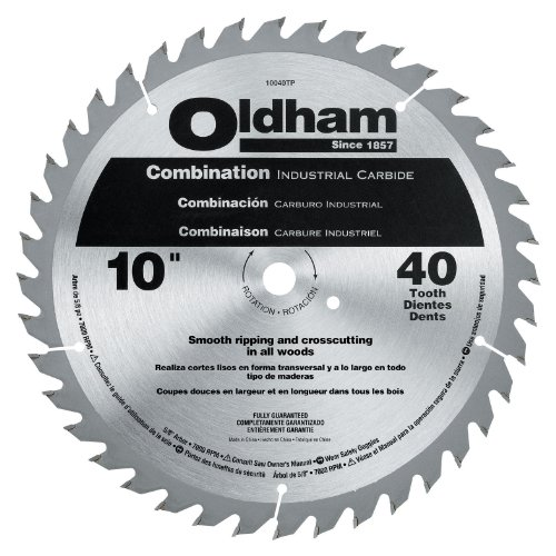 Ace Hardware Oldham 10040TP All Purpose 10-Inch 40 Tooth ...
