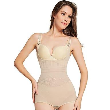 4df94bff44 Queenral Body Shaper Femme Shapewear Gaine Amincissante Waist Trainer   Amazon.fr  Vêtements et accessoires