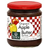 Eden Apple Butter, Organic 17.0 OZ(Pack of 4)