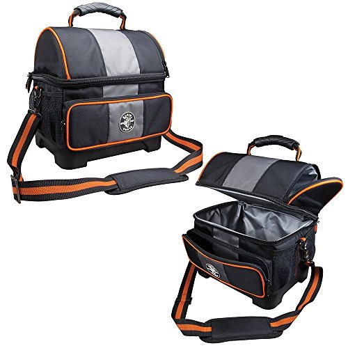- Klein Tools 55601 Cooler, Soft  Lunch Box, 12-Quart Tradesman Pro  Jobsite Insulated Lunch Cooler