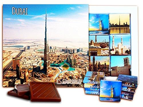 DA CHOCOLATE Candy Souvenir Dubai Chocolate Set 5x5