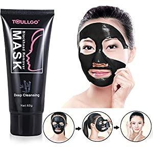 Charcoal Peel off Mask, Blackhead Remover Mask, Black Mask with Tools, Premium Quality Mask Purifying Peel off Mask, Deep Clean Dead Skin, Remove Blackheads/Whiteheads/Acne/Oil Control