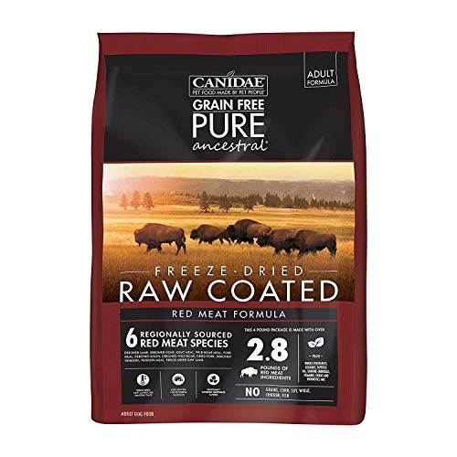 Canidae Pure Ancestral Raw Coated Red Meat Dog Food...