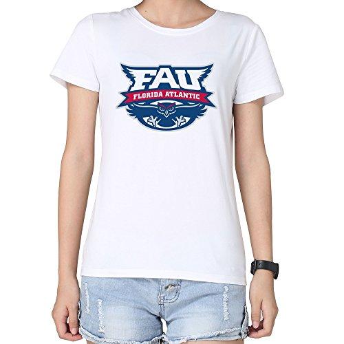 Tjame Women's Ticket Bowl Athletics Florida Atlantic Owls T Shirts XL White