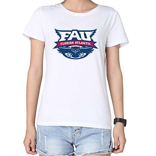 Tjame Women's Ticket Bowl Athletics Florida Atlantic Owls T Shirts XL White