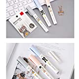 3Pcs Pen-Style Retractable Erasers with 6 Pcs