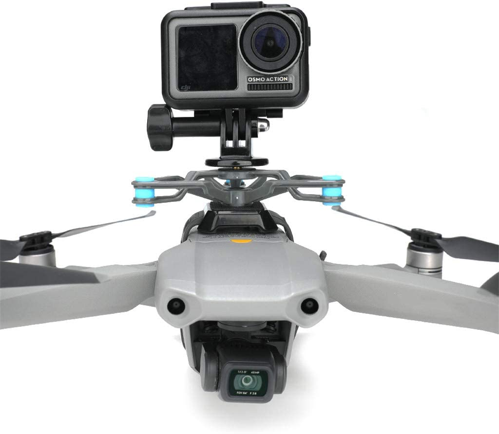 Accessoires De Haute Qualit/é pour Drones Momola Cam/éra daction Support Fixe Support damortisseur pour DJI Mavic Air 2//Autel Evo 2//Mavic 2//Mavic Pro//Fimi X8 Se