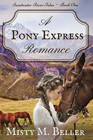 book cover of A Pony Express Romance