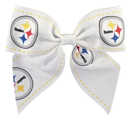 NFL Pittsbugh Steelers Bow Hair Clip at SteelerMania