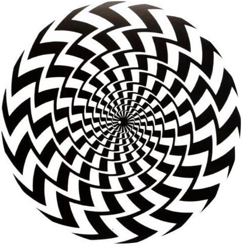 123t - Tapete Antideslizante con Diseño de Ilusión Color Negro y ...