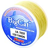 Mason Big Cat Catfish Braided Nylon Fishing Line, 72-Pound For Sale