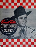 img - for Ernest Tubb's Opry House Songs book / textbook / text book