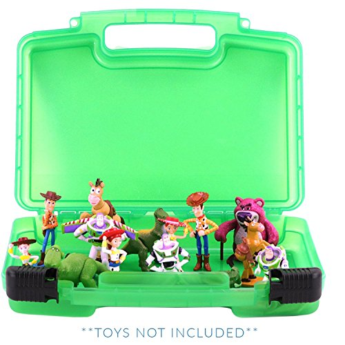 Life Made Better Toy Story Case, Toy Storage Carrying Box. Figures Playset Organizer. Accessories Kids LMB