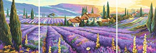 Simba Tript. Puzzle Lavender Fields, Multi Color (2000 Pcs )