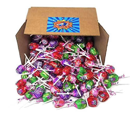 Jolly Rancher Lollipops Hard Candy, Original Flavors Chew Candy Filled Pops, Bulk Pack, 2 lbs